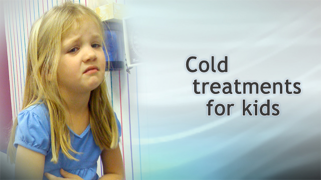 <div class=media-desc><strong>Cold treatments for kids</strong><p>When people started saying that you shouldn't use decongestant, antihistamine, or cough suppressants in kids under 6 or maybe even kids under 12, parents started asking me lots of questions. What do you do when your child has a cold? It's like you've tied both hands behind our backs. I'm Doctor Alan Greene and I'd like to start answering that question. The first thing is, it's not that the doctors are trying to hold back the good stuff. Studies have shown that those things just don't work in children. Children aren't the same as adults, and even though some studies have shown affect in grown-ups before puberty, there's very little evidence that they are helpful and they can cause side effects. There is evidence though that other things help for instance for cough, plain old honey - a spoon full of honey works better than DM cough syrup. Of course you want to save honey for kids over one because of concerns about botulism in babies. Cough drops are another thing that can really help for coughs and for sore throats. When sucking on a cough drop, it can help increase saliva production and antibodies and reduce cough - great thing to do for kids who are old enough that you're sure that they are not going to choke on it, usually four and above. For congestion you might try saline nose washes or saline nose drops can be helpful and shown in some studies to help, and in a number of studies steam has been shown to help, too. You can use a hot shower or a vaporizer if the child is not at an age when they will run over and trip and scald themselves. And if they are at an age of concern, you can get a little personal vaporizer. You can supervise and put their face over it and inhale the steam that way. There are a number of herbs that have been shown to help in different ways, too. Echinacea has been shown in some studies to be helpful for cold and flu. Valerian root for helping kids sleep when they have a cold. Zinc the mineral has been shown to be helpful in colds when kids are zinc deficient and many American kids are, so there are a lot of things you can try but whatever you do try, within a week or so your child's life will be back to normal and it's not worth trying anything that might cause dangerous side affects.</p></div>
