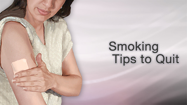 <div class=media-desc><strong>Smoking tips to quit</strong><p>You probably know by now that smoking damages your lungs, raising your risk for bronchitis, emphysema, and lung cancer. And, you're probably well aware that lighting up also puts you at risk for many different types of cancers, as well as eye disease like cataracts and premature wrinkles, you know why you shouldn't smoke, it's just the quitting part you can't seem to get past. Let's talk about some helpful tips to help you quit smoking, for good this time. It's a familiar story, one that plays out over and over again among smokers. You vow to quit, and you have every intention of doing it, and then the cravings hit. And you can't think about anything but having a cigarette. You get irritable, and you start putting on weight. You think, Just one cigarette wouldn't hurt, would it? And then, before you know it, you're smoking again. Most smokers have tried to quit, and failed, several times. Even if you've failed before, you can still succeed at quitting. Many people have. You just need to find the technique that works for you. So, here are a few tips that can help. First, set a quit date. Write it down on your calendar and tell a few friends, so you'll be too embarrassed to back out. Before your quit date, throw out every cigarette in your house, car, and office. Also toss every ashtray, lighter, and anything else you need to smoke. Wash your clothes and clean your furniture so you won't have that smoky smell hanging around your house. Next, call your doctor. Ask about smoking cessation programs in your area. Also learn about tools that can help you quit, like medicines that reduce the urge to smoke, and nicotine replacement gums, lozenges, patches, and sprays. And then, plan what you'll do instead of smoking. If you smoke with your morning cup of coffee, drink tea or go for a walk instead. If you need a cigarette to keep your mouth busy, try chewing sugarless gum or nibble on a carrot stick. Stick to places where smoking isn't allowed, like smoke-free restaurants. And finally, reward yourself for not smoking. Put all that money that you would have spent on cigarettes into a jar. And once you've collected enough money, use it to take a trip or buy something you've wanted for a long time. Don't get discouraged. Quitting smoking isn't easy. If it were, everyone would have done it by now. Be persistent, reward yourself for the progress you've made, and keep at it until you finally conquer the urge to smoke.</p></div>