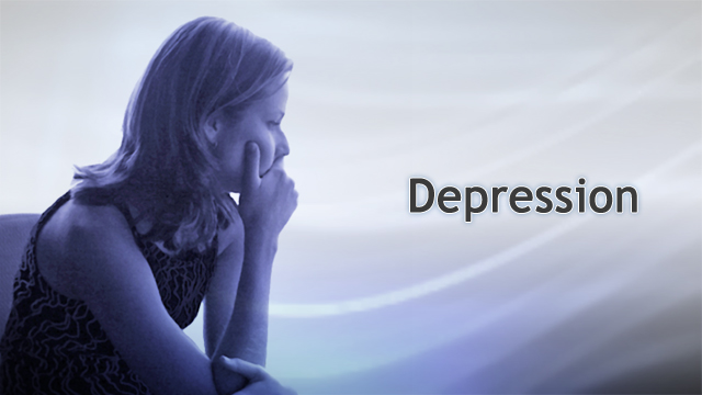 <div class=media-desc><strong>Depression</strong><p>If you often feel sad, blue, unhappy, miserable, or down in the dumps, you may have depression. Let's talk about depression, and what you can do to get out of your funk. Depression often runs in families. This may be due to your genes, passed down by your parents and grandparents, the behaviors you learn at home, or both. Even if your genetic makeup makes you more likely to develop depression, a stressful or unhappy life event may triggers the depression. Depression can have many causes, including internal factors like genetics, or negative personality. External factors, substance misuse, or trauma and loss. Common triggers include alcohol or drug use, and medical problems long-term pain, cancer or even sleeping problems. Stressful life events, like getting laid off, abuse at home or on the job, neglect, family problems, death of a loved one, or divorce, can send someone spiraling into depression. There are three main types of depression; major depression, atypical depression and dysthymia. To be diagnosed with major depression, you must demonstrate 5 or more of the primary symptoms for at least two weeks. Atypical depression occurs in about a third of patients with depression, with symptoms including overeating, oversleeping, and feeling like you are weighed down. Dysthymia is a milder form of depression that can last for years if not treated. Other forms include the depression that is part of bipolar disorder, postpartum depression, occurring after a woman gives birth, premenstrual dysphoric disorder,  occurring 1 week before a woman's menstrual period and seasonal affective disorder, occurring in both males and females during the fall and winter seasons. No matter what type of depression you have and how severe it is, some self-care steps can help. Get enough sleep if you can, exercise regularly, and follow a healthy, nutritious diet. Avoid alcohol and recreational drugs. Get involved in activities that make you happy and spend time with family and friends. If you are religious, talk to a clergy member. Consider meditation, tai chi, or other relaxation methods. If you are depressed for 2 weeks or longer, contact your doctor or other health professional before your symptoms get worse. Treatment will depend on your symptoms. For mild depression, counseling and self-care may be enough. Either psychotherapy or antidepressant medicines may help, but they are often more effective when combined. Vigorous exercise and light therapy could offer significant benefit alone or in combination. Healthy lifestyle habits can help prevent and treat depression, and reduce the chances of it coming back. Talk therapy and antidepressant medication can also make you less likely to become depressed again. In fact, talk therapy may help you through times of grief, stress, or low mood. In general, staying active, making a difference in the life of others, getting outside and keeping in close contact with other people is important for preventing depression.</p></div>