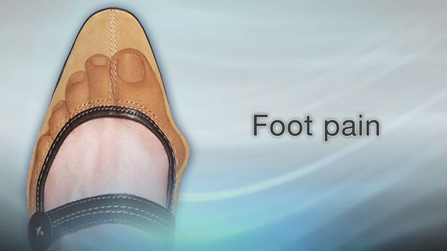 Foot pain Healthy feet often travel miles each day. You ...