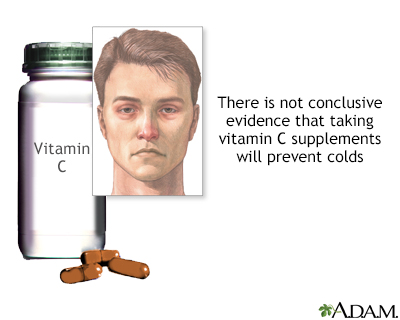 Vitamin C and colds