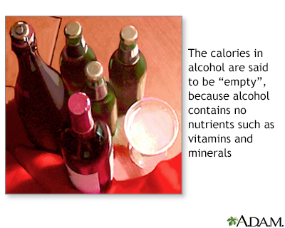 Alcohol and diet