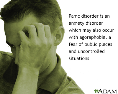Panic disorder with agoraphobia