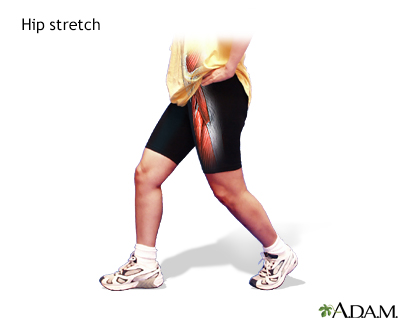 Hip stretch