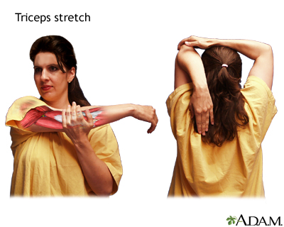 Triceps stretch