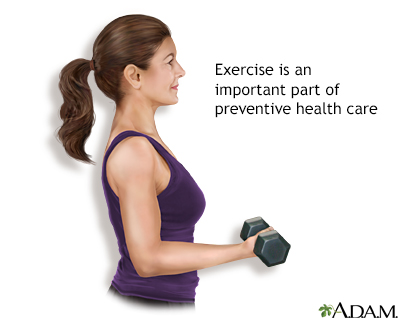 Physical activity - preventive medicine