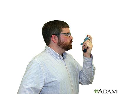 Metered dose inhaler – step five