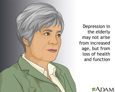 Depression among the elderly