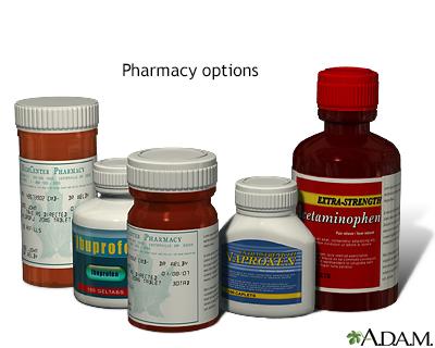 Pharmacy options