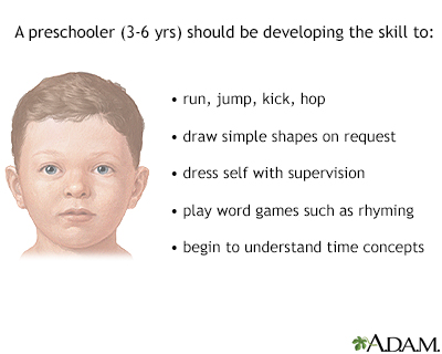 Preschooler development