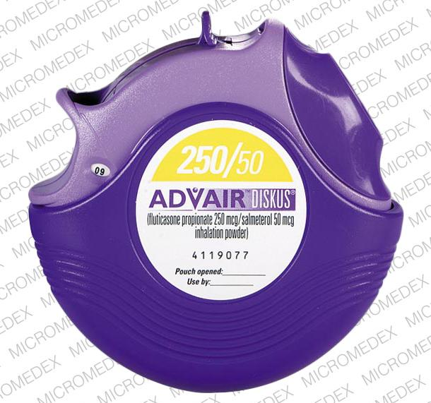 is it ok to take advair and spiriva