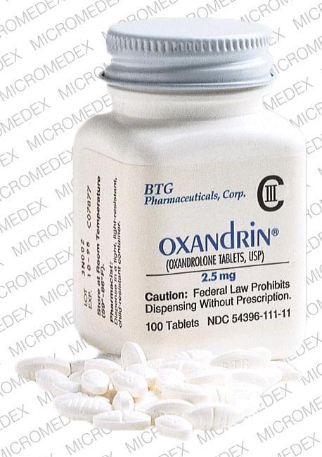 oxandrolone 2.5 mg